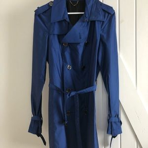 Burberry Royal Blue Trench